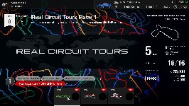 Circuits réels (Ligue de pilote amateur)