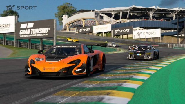 GTSport : circuit d'interlagos