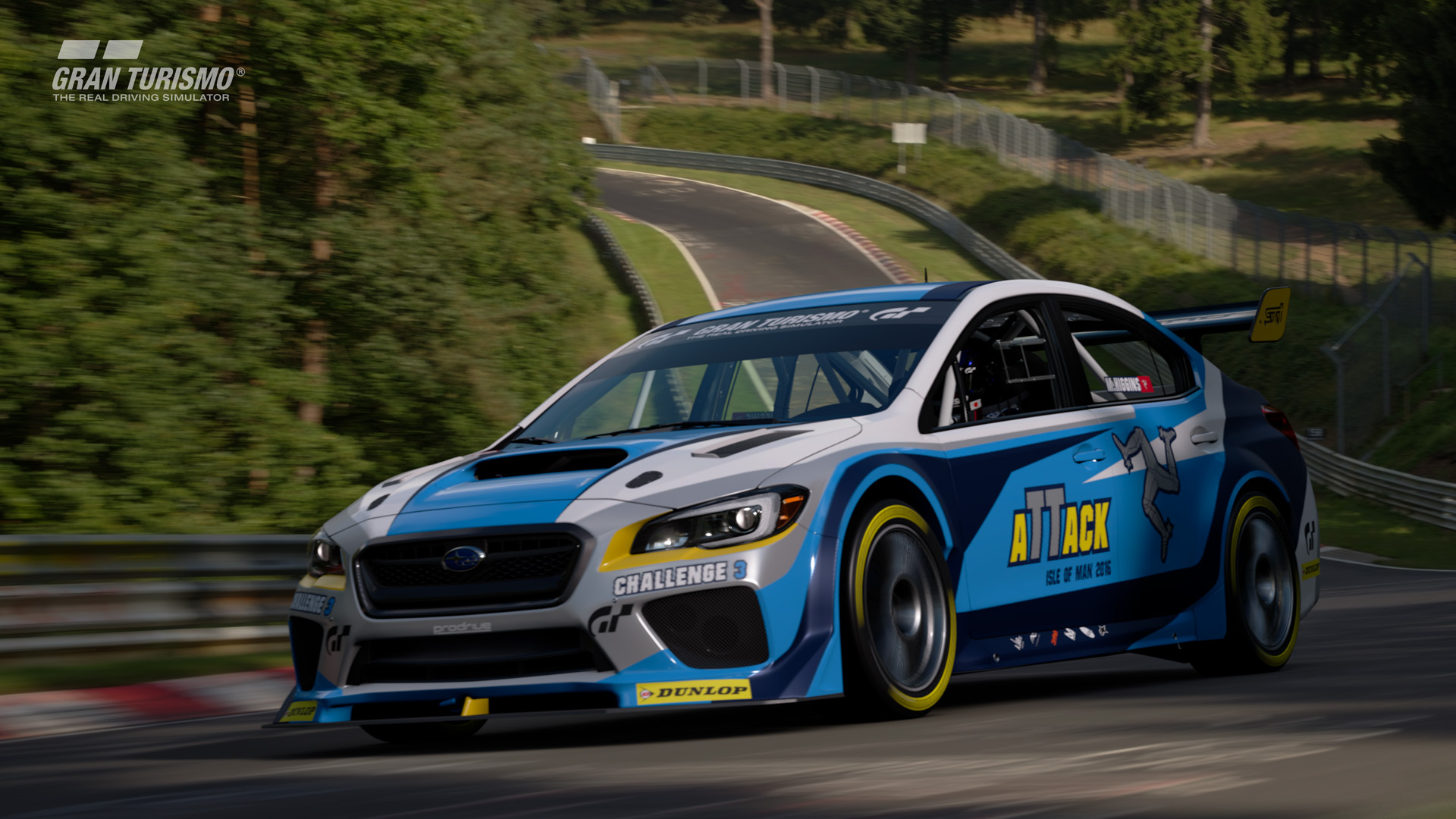 Subaru WRX STI Isle of Man Time Attack Car '16 (Gr.X)