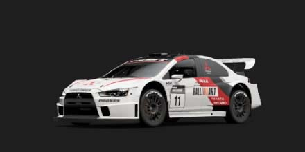 Lancer Evolution Final Edition Gr.B Rally Car